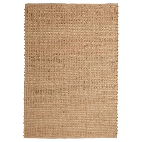 Tesco Jute Rug Natural 120X170Cm
