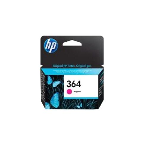 HP 364 (Magenta) Ink Cartridge (Yield 300 Pages) Deskjet 3070A e-All-in-One, Officejet 4620 e-All-in-One, (3 day lead)