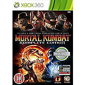 Mortal Kombat Komplete Goty Edition (Xbox 360)