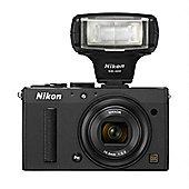 Nikon Coolpix A Camera Black 16.2MP 3.0LCD FHD 28mm Wide Lens