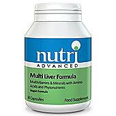 Nutri Ltd Multi Liver Formula 60 Capsules