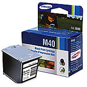 Samsung INK-M40 Ink Cartridge Yield 750 Pages (Black) for Samsung SF330/SF335T/331P, SF-340/341P/345TP