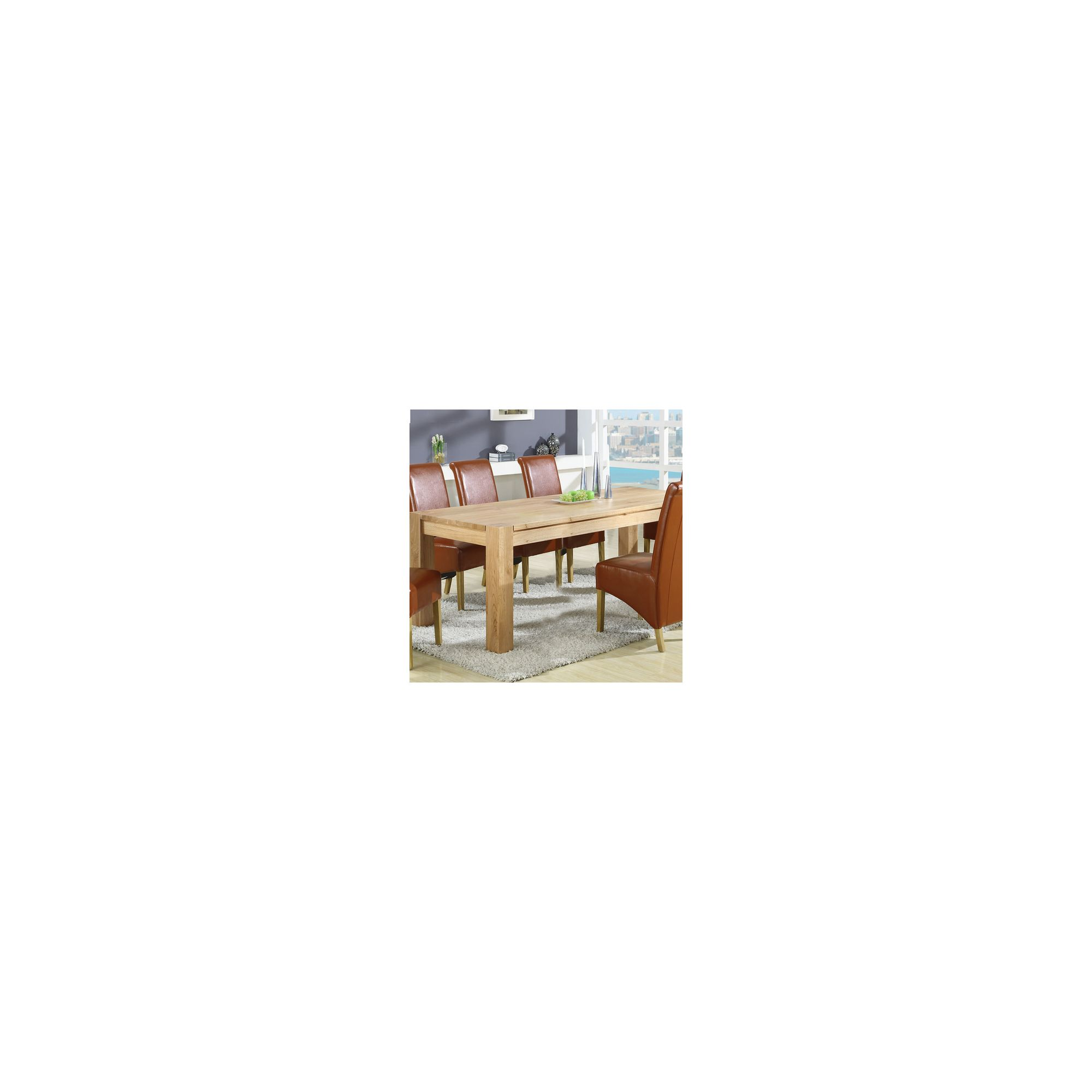 Shankar Enterprises Oslo Dining Table - 180cm W x 90cm D