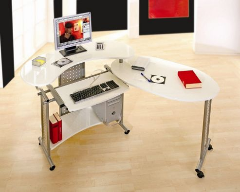 Aspect Design Tecno Mobile Work Centre in White