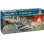 Italeri Vosper Mtb 74 St. Nazaire Raid 5619 1:35 Boat Model Kit