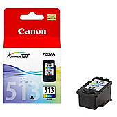 Canon CL 513 Ink Cartridge - Cyan/Magenta/Yellow