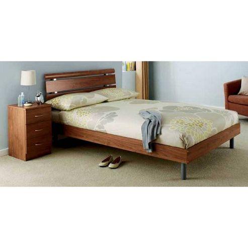 Ashcraft Impressions Double Bed Frame - Walnut