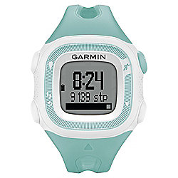 Garmin Forerunner 15 Running Watch Teal/White with Heart Rate Monitor