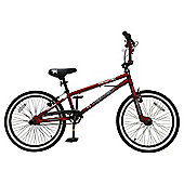 T.  VERTIGO BONEYARD  20BMX  RED