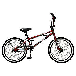 """Vertigo Boneyard 20"""" BMX Bike, Red"""