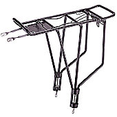 Ostand CD35AT.OE Rear Adjustable Alloy Carrier in Black