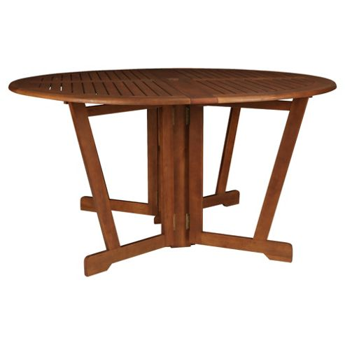 Buy Windsor Wooden Round Gateleg Garden Table 150cm From Our Garden Tables Range Tesco Com