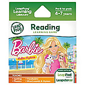 LeapFrog Learing Game Barbie Malibu Mysteries