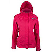 Monsoon Extreme Womens Waterproof Rain Coat Anorak Hooded Shower Proof Jacket - Pink