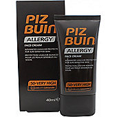 Piz Buin Allergy Face Cream 40ml SPF50+