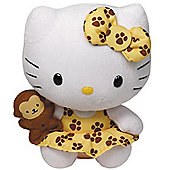 "TY Beanie 6"" Plush - Hello Kitty Safari"