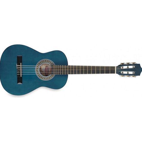 Rocket C510 1/2 Size Classical Guitar - Blue