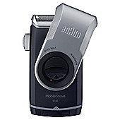 Braun Pocket Go M90 MobileShave Portable Shaver with Smart Foil