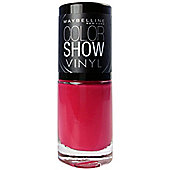 Maybelline New York Color Show Vinyl Nail Varnish 7ml-402 Pink Punk
