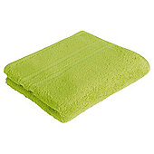 Tesco 100% Combed Cotton Hand Towel Lime
