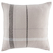 Tesco Tartan Cushion, Grey