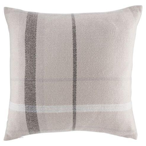 buy tesco tartan cushion grey from our cushions range tesco. Black Bedroom Furniture Sets. Home Design Ideas