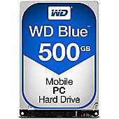WD Blue WD5000LPVX 500 GB 2.5 Internal Hard Drive SATA - 5400 - 8 MB Buffer - Hot Swappable