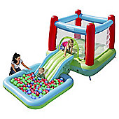 Airpro Bouncy Castle with Slide & Pool