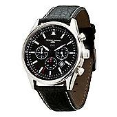 Jorg Gray Commemorative Edition Mens Leather Chronograph Date Watch JG6500