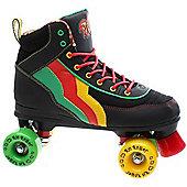 Rio Roller Classic II Guava Quad Roller Skates - Black