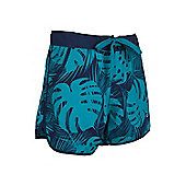 Mountain Warehouse Patterned Womens Boardshorts - Blue