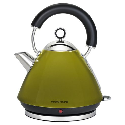 Morphy Richards Accents Traditional Pyramid Kettle - Oasis