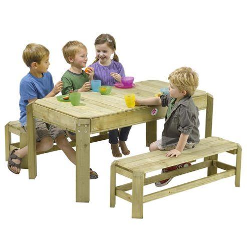 Plum Wooden Activity Table