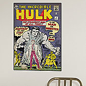Comic Book Cover Hulk Issue 1 Wall Stickers