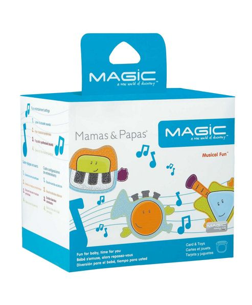 Mamas & Papas - MAGIC Card & Toys Pack - Musical Fun