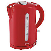 Swan Jug Kettle, 1,7L - Red