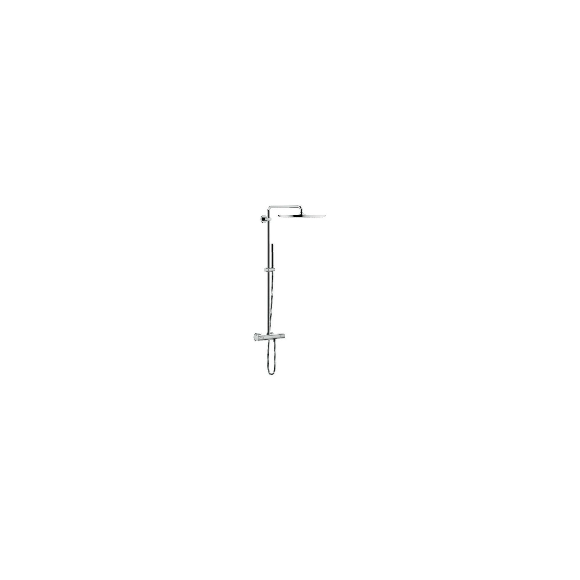 Grohe Rainshower 27174001 Bar Shower, 400mm Fixed Head, Handset, Chrome at Tesco Direct