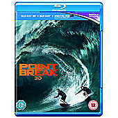 Point Break 3D Blu-ray