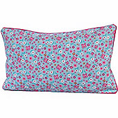 Homescapes Cotton Butterfly Scatter Cushion, 30 x 50 cm