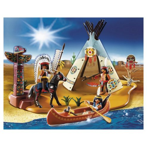 Playmobil 4012 SuperSet Indian Camp