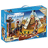 Playmobil 4012 Super Set Native American Camp