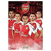 Arsenal 2016 Calendar
