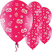 11' Birthday Perfection 65 Fuchsia (25pk)