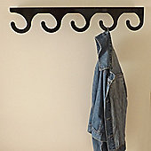The Metal House Big Wave Coat Rack