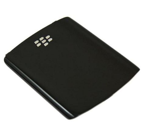 Genuine Black Replacement Back Battery Cover - BlackBerry 8520 Curve, 930.3G.