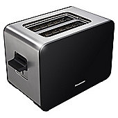 Panasonic NT-DP1BXC 2 Slice Toaster - Stainless Steel & Black