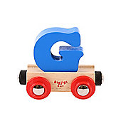 Bigjigs Rail BR107 Name Letter G (Colours Vary)