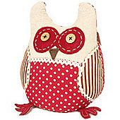 Wise Owl Fabric Door Stop