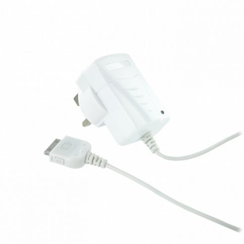 Kit Mains Travel Charger for iPhone 4/4S/3GS/3G - White