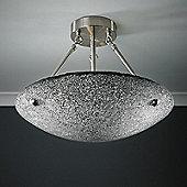 Endon Lighting Marconi 3 Light Semi-Flush Mount in Chrome